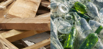 Wood Glass Recycling