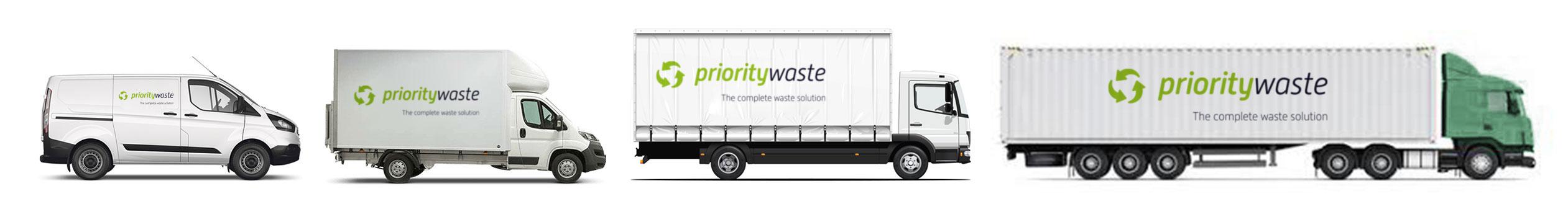 Priority Waste Vans